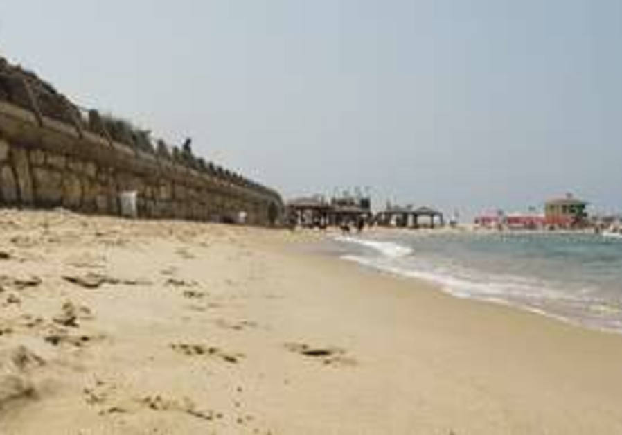 DOG BEACH in North Tel Aviv gets its name from the
