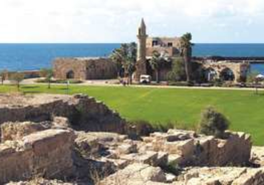 CAESAREA'S ANCIENT port