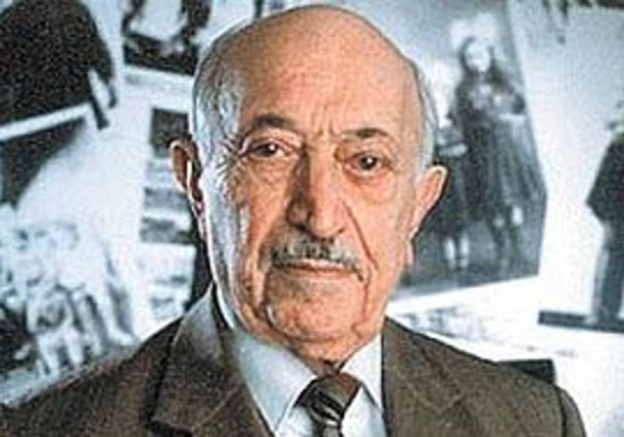 Nazi hunter Simon Wiesenthal