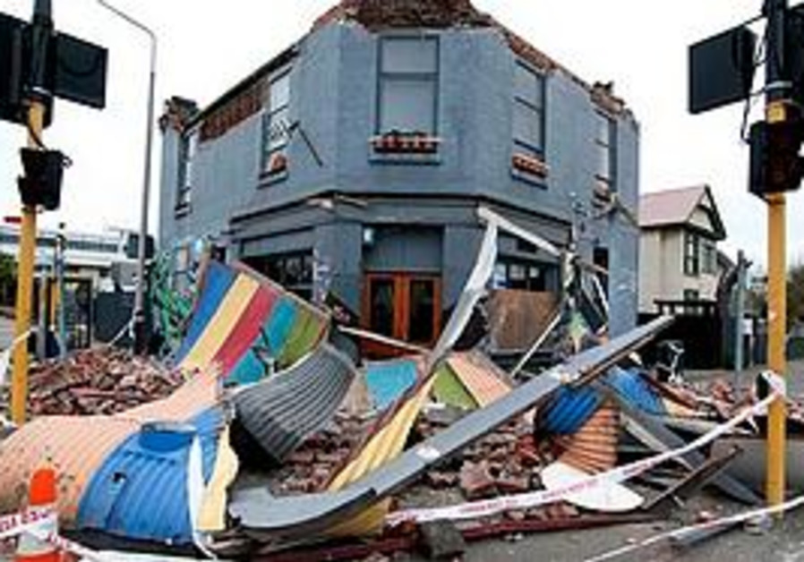 New Zealand begins post-earthquake recovery.