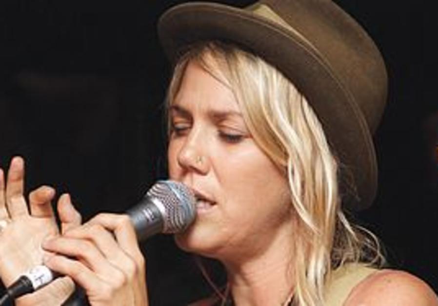 Singer Carlie Fairburn