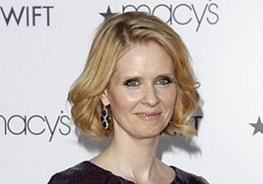 Actress Cynthia Nixon