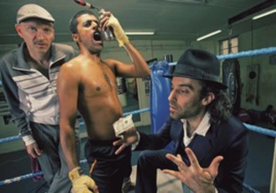 ORI KAPLAN (left) with his mates in Balkan Beat Bo