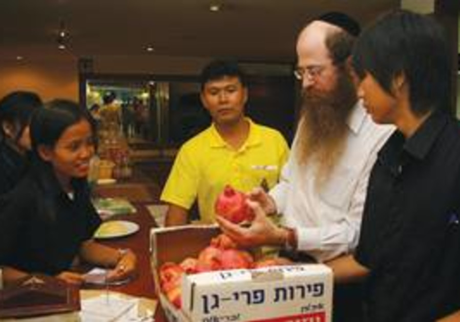 RABBI NECHEMIA Wilhelm, of Chabad in Thailand