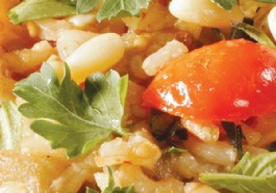 PILAF IS popular for stuffing all sorts of poultry