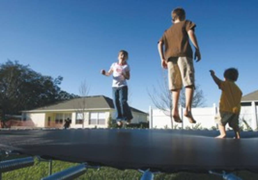Trampolines have become popular for exercise in th