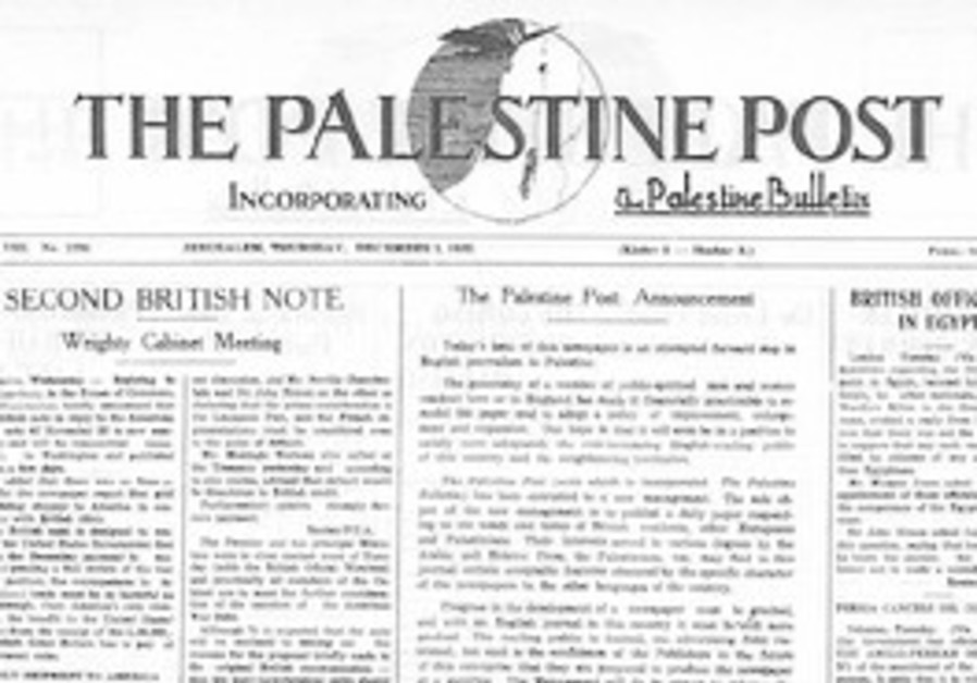 History Revisited: The 'Post' is born