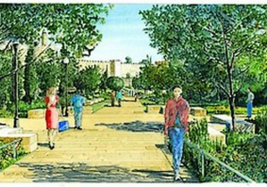 J'lem park to be named for Teddy Kollek