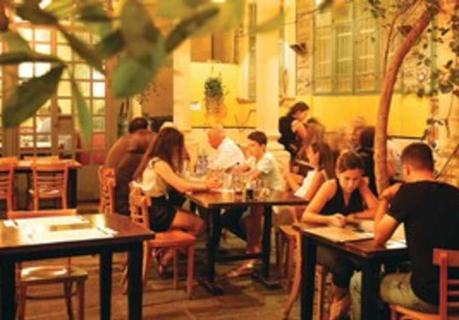 The Stephan Brown restaurant in Tel Aviv