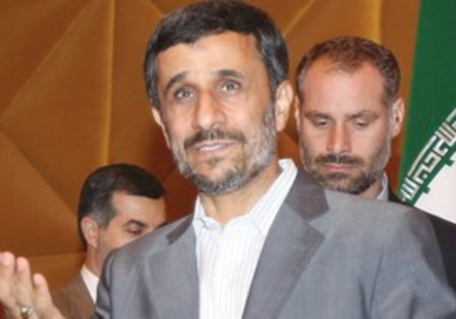 AHMADINEJAD INTENDS to use his visit to step in an