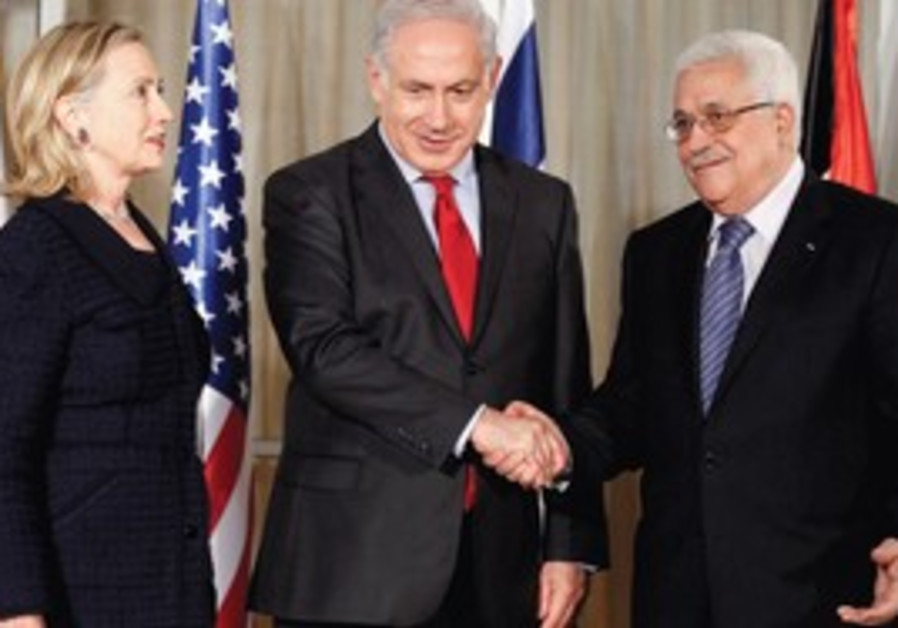 Clinton, Netanyau and Abbas