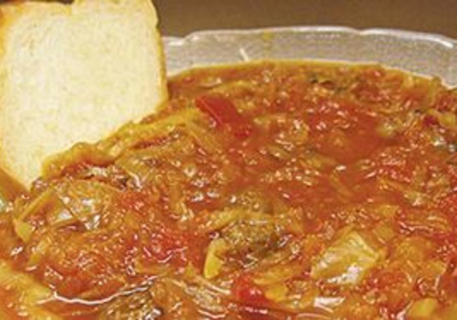 Cabbage borscht: A rare reward for the hungry