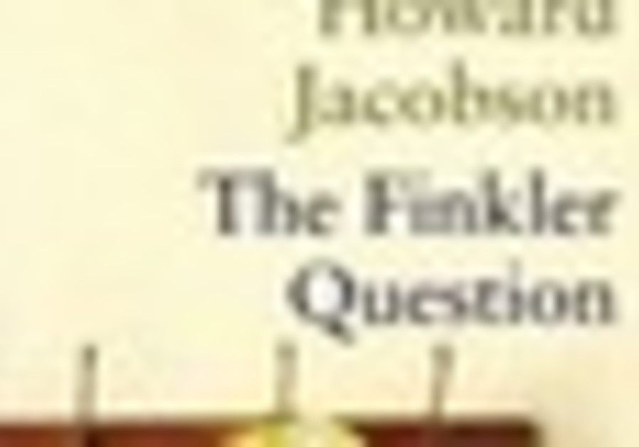 Book Cover. The Finkler Question