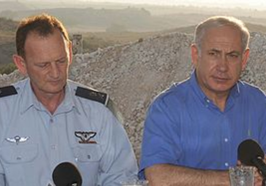 PM Binyamin Netanyahu in the Negev