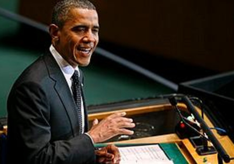 President Obama addresses a UN summit