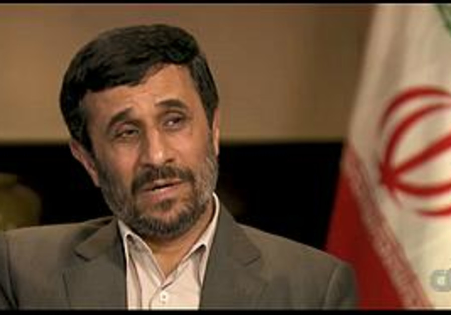 Ahmadinejad interviewed by Larry King