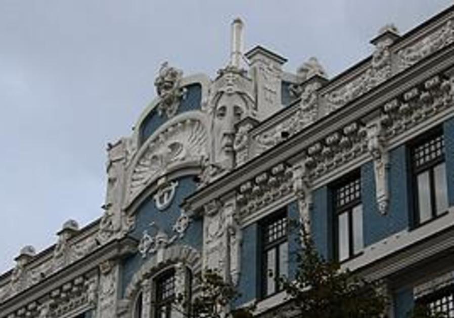 An Eistenstein designed building in Riga