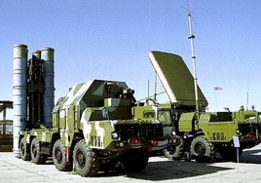 S-300 missile truck.