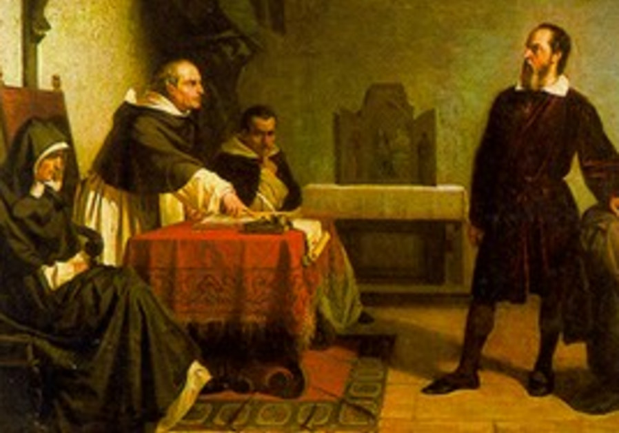 Galileo faces the Roman inquisition