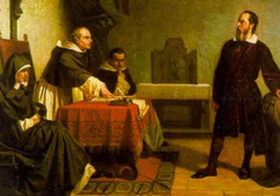 Galileo faces the Roman inquisition