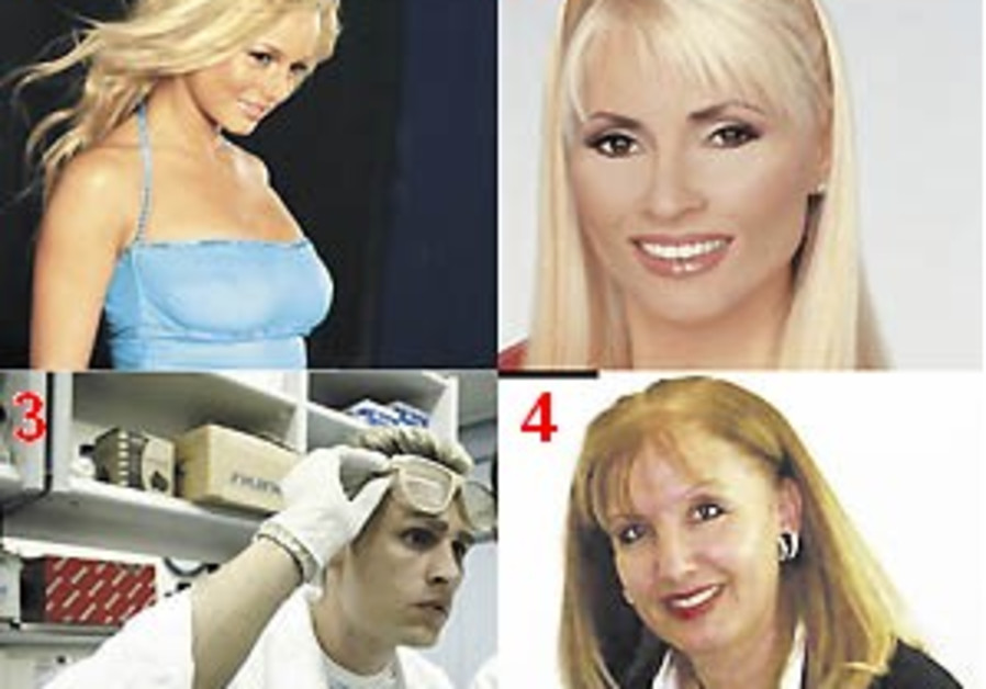 Eight spectacularly 'blond' Israeli blonds