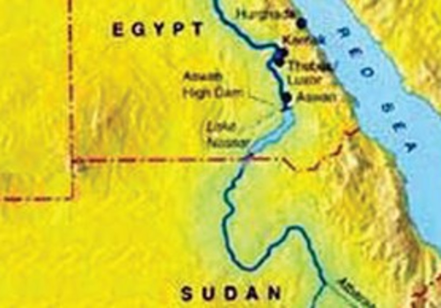 Map of Nile
