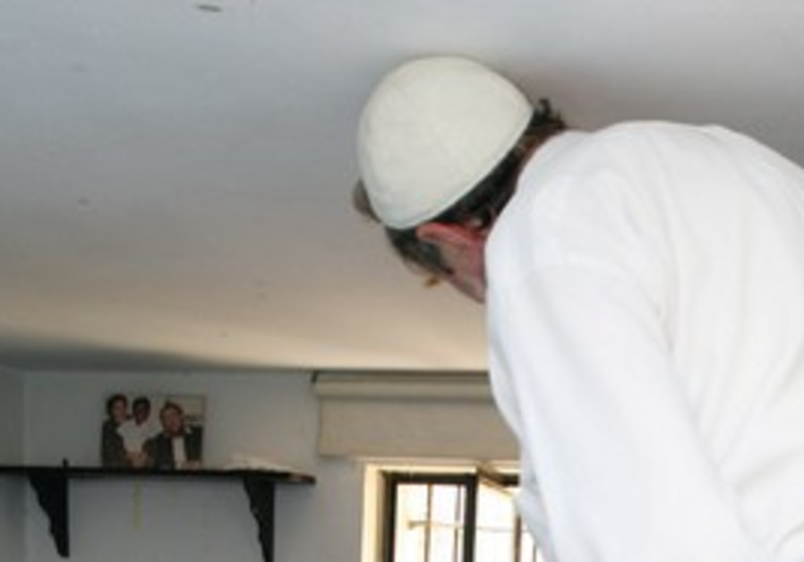 Close quarters. The loft the Sperbers built for ex