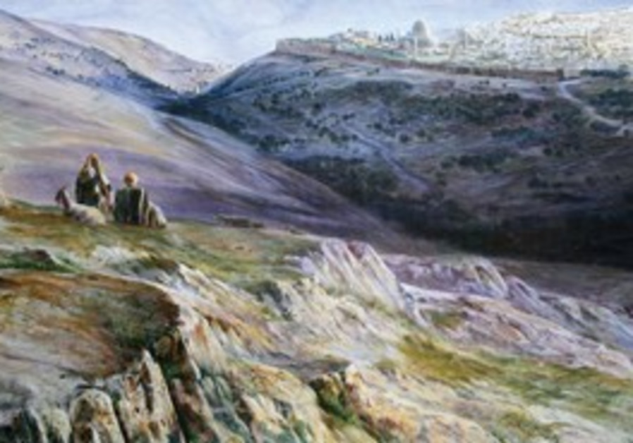 'View of Jerusalem from the Mount of Olives'