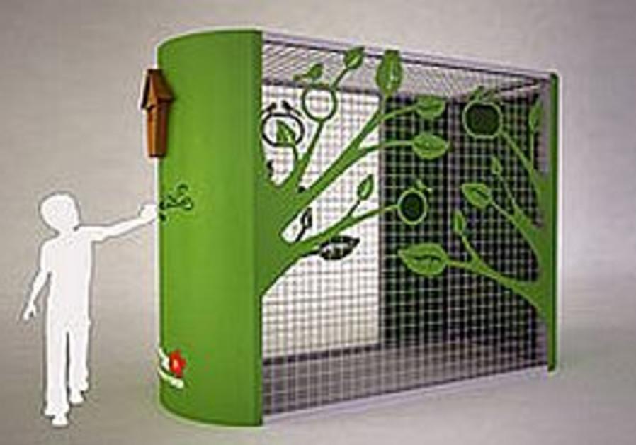 CHEN GUITERMAN'S 'Green Tree' receptacle design