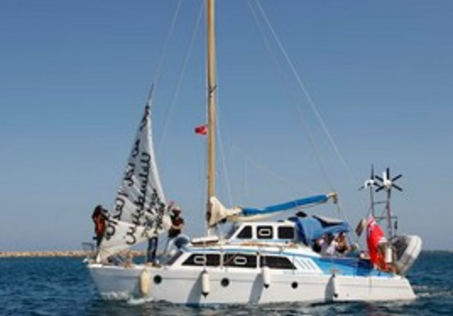 A boat with 9 Jewish activists aboard sets sail fr