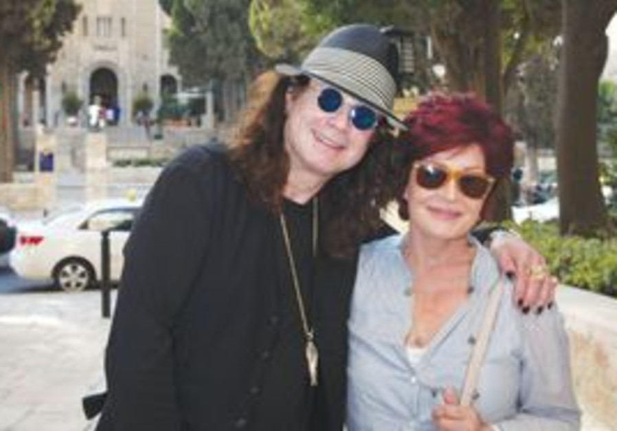 Ozzy & Sharon Osbourne in Israel