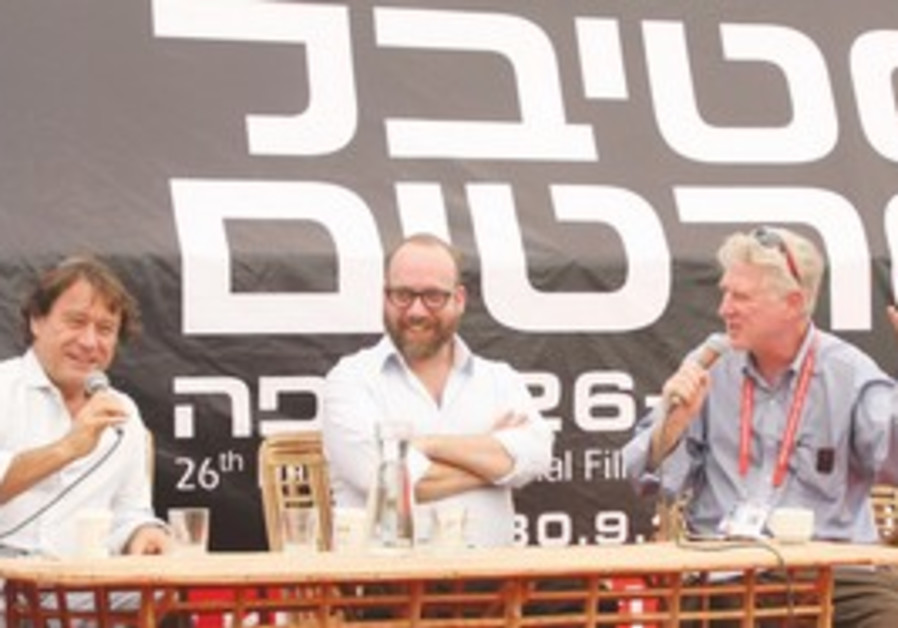 Paul Giamatti at the Haifa Film Festival