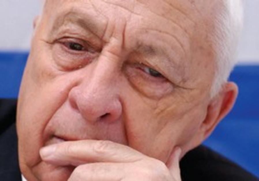 Former prime minister Ariel Sharon
