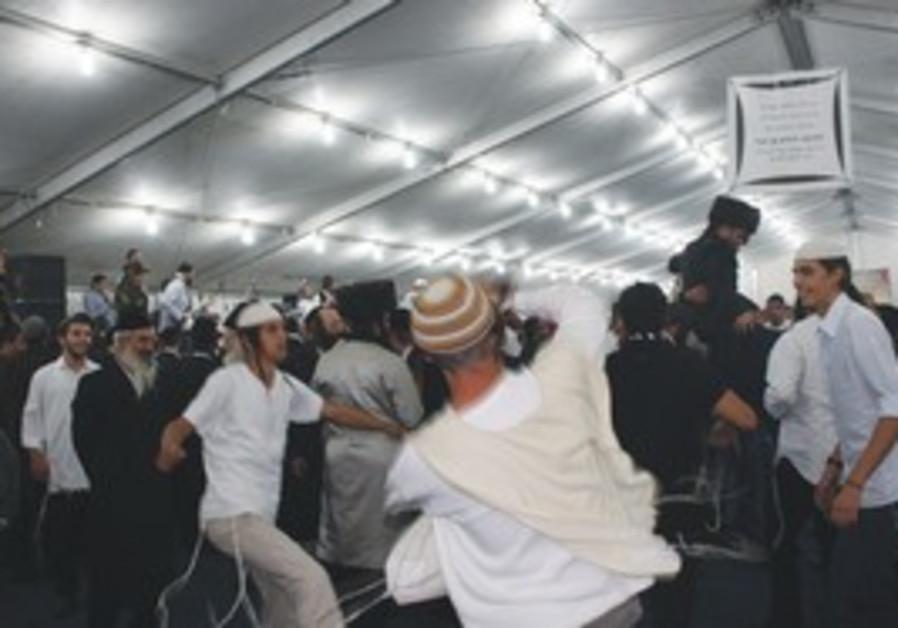 Rabbi Nahman followers in Uman
