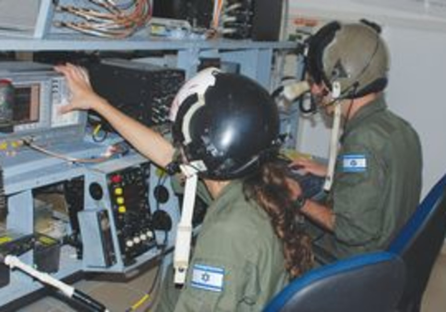 Israeli electronic warfare soldiers