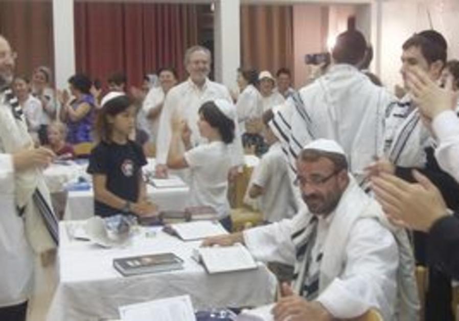 Shlomo Ra'anan at Kibbutz Geva for Yom Kippur