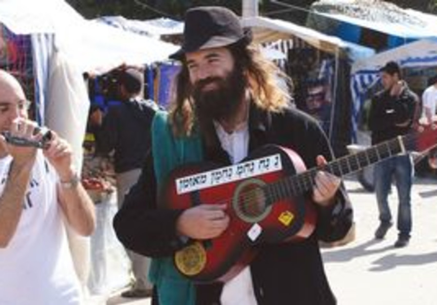 Breslov follower in Uman