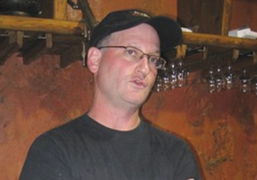 Israeli winemaker Sam Soroka