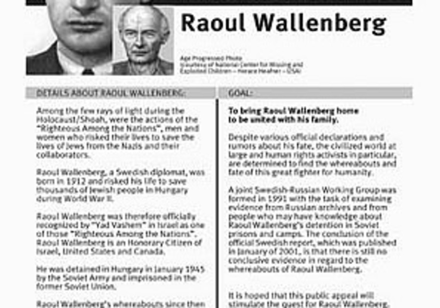 Wallenberg would be 95 on Saturday