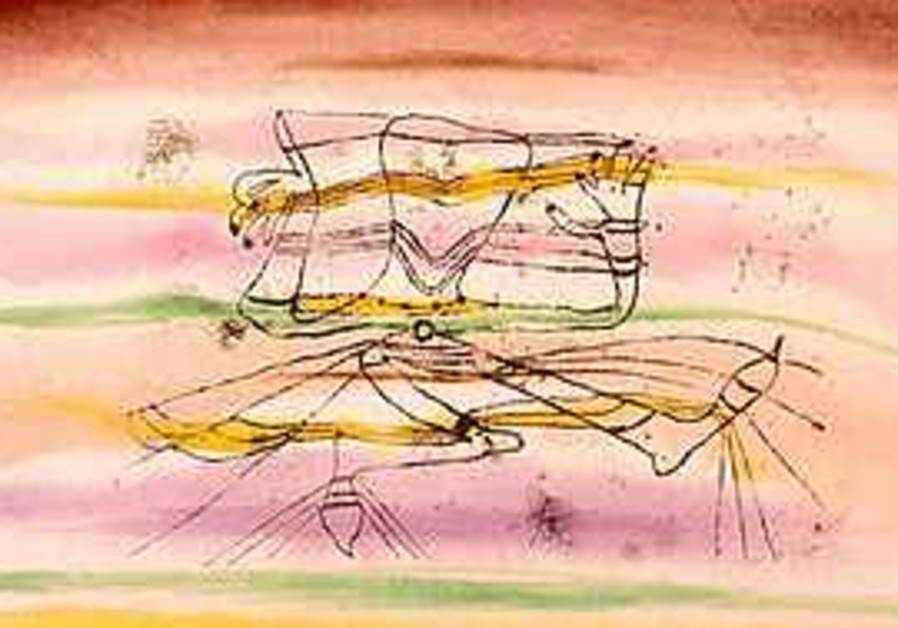 1920 drawing by Swiss artist Paul Klee