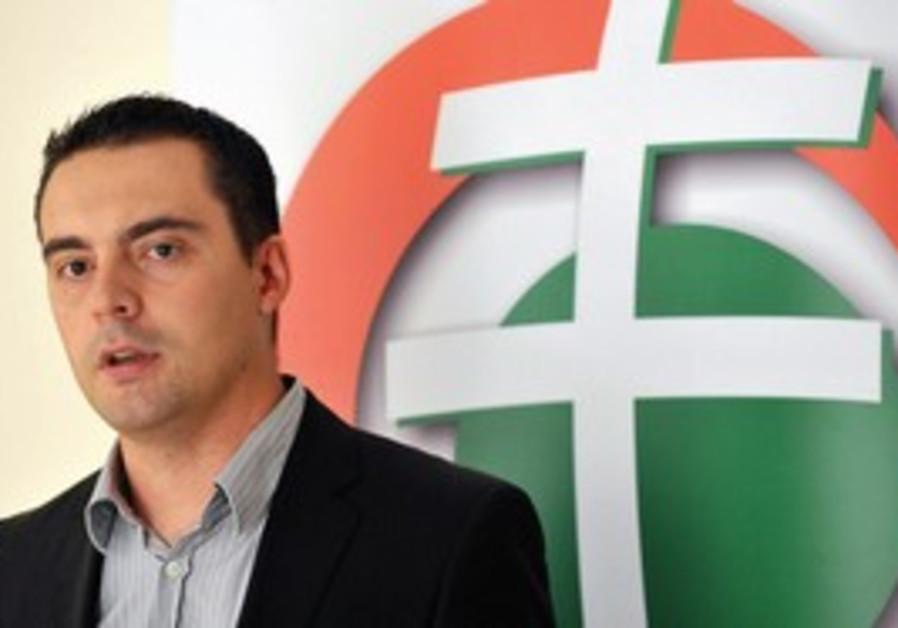 Jobbik party leader Gabor Vona.