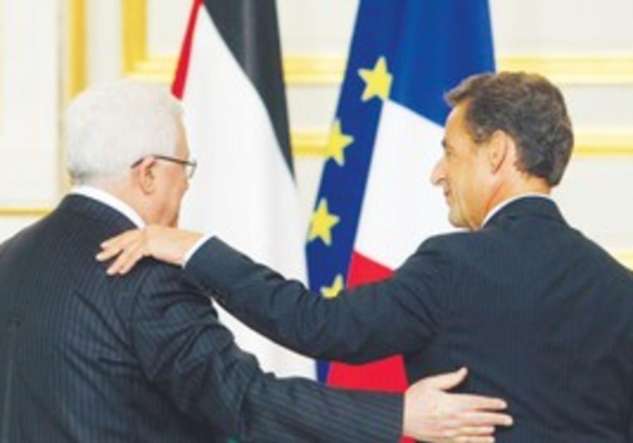 Abbas and Sarcozy backs
