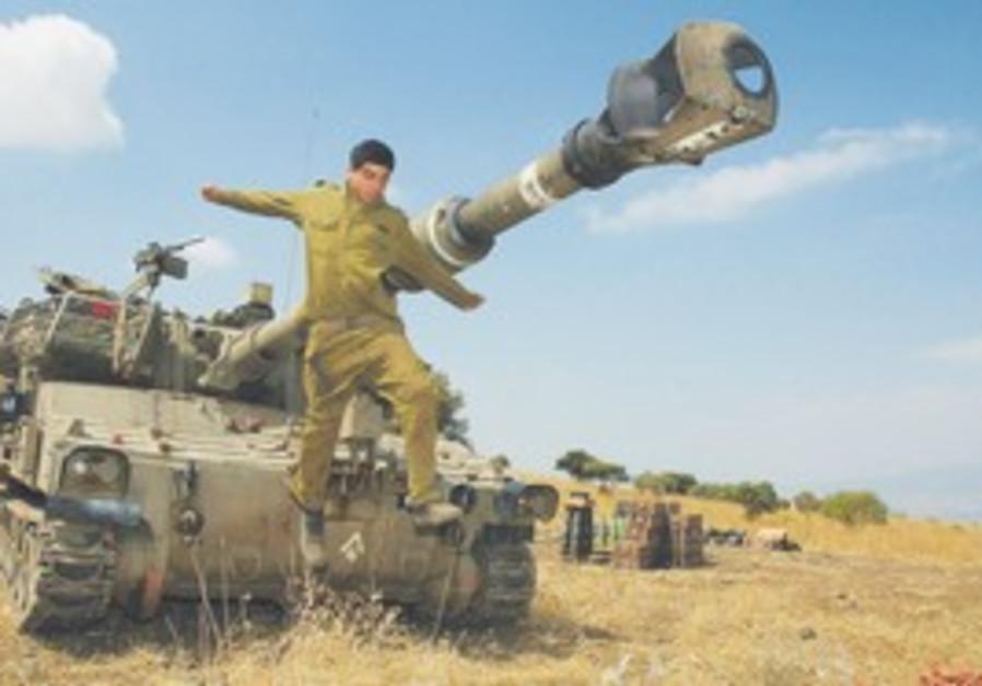 Artillery solder jumping