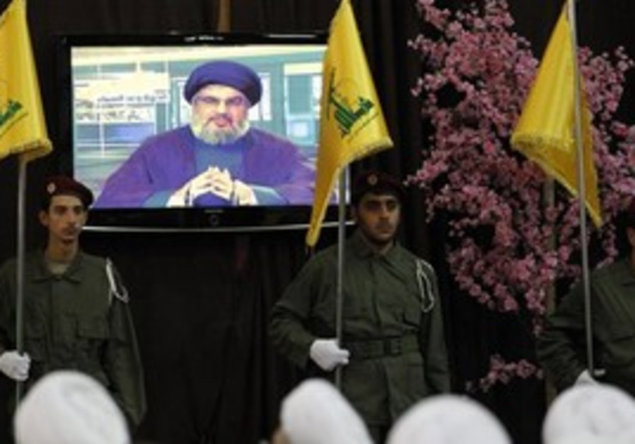 Hizbullah Nasrallah on TV