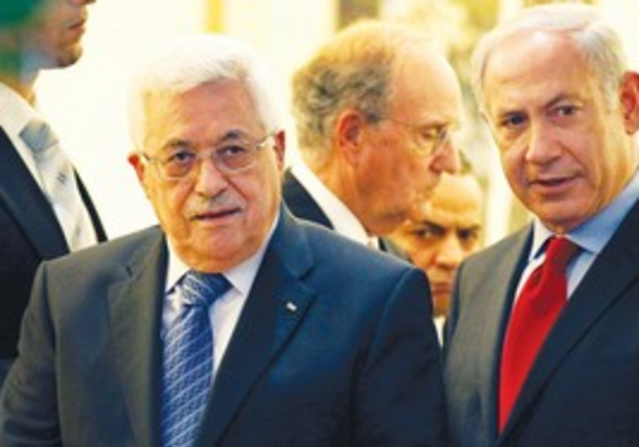Netanyahu Abbas