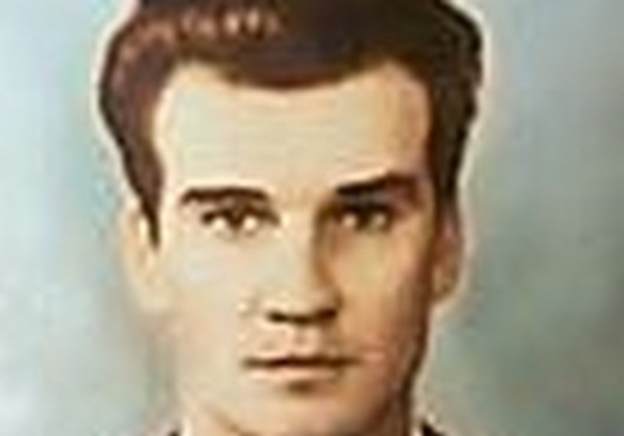 A photo of the young Lt.-Col. Stanislav Petrov