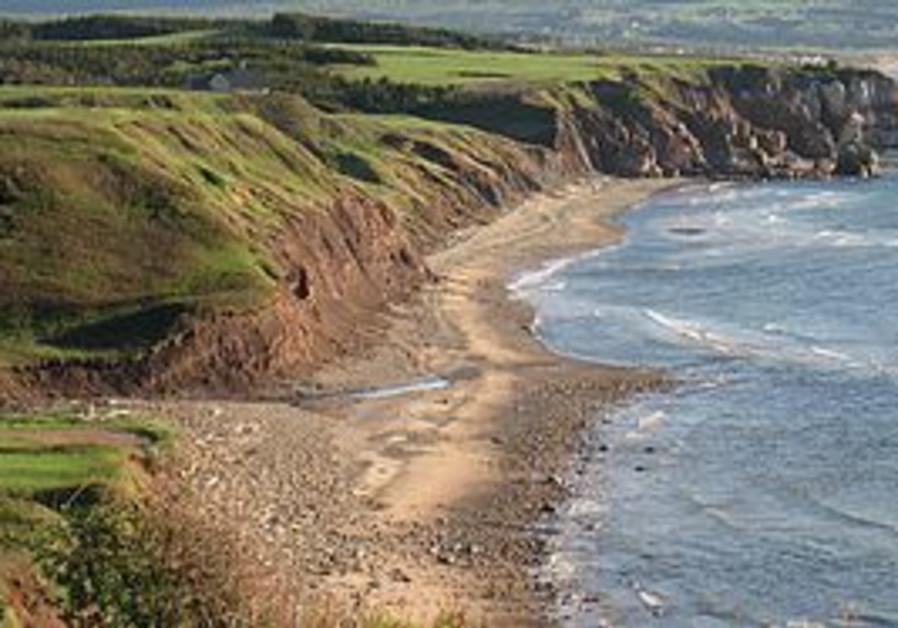 A scenic view of Cape Breton.