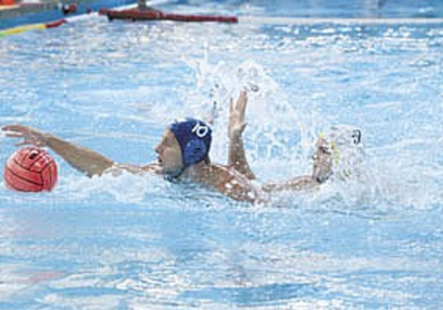 Water Polo: Greece, Romania in final at Wingate