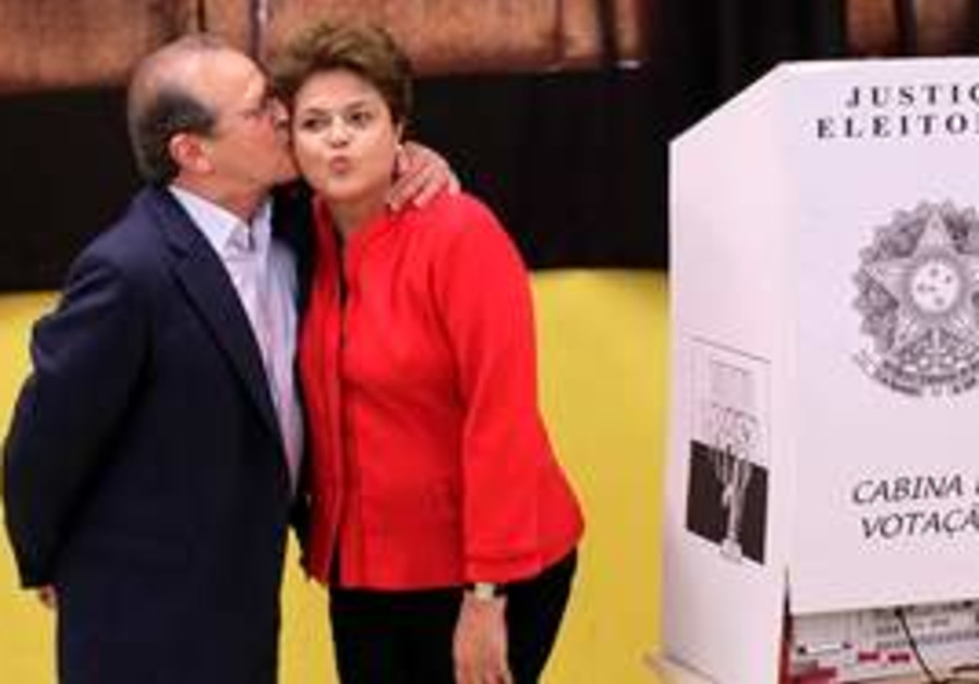 Dilma Rousseff, presidential candidate for the Wor