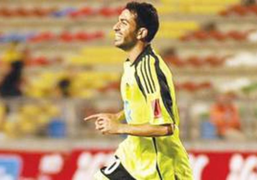 BETAR JERUSALEM forward Hen Azriel scored a stoppa